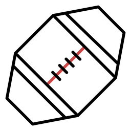 Polygon soccer ball stroke