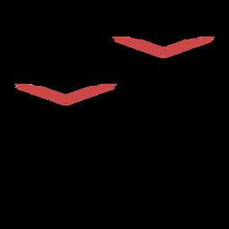 Curso de símbolo de teatro de polígono