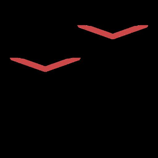 Traço de símbolo de teatro poligonal