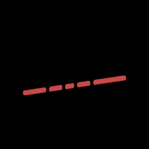 Trazo de clave de sol de polígono