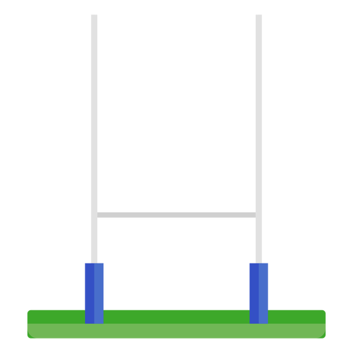 Rugby Goal Post Flat Transparent Png Svg Vector File