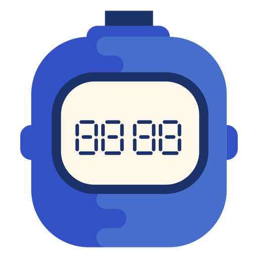 Sports stopwatch flat Transparent PNG