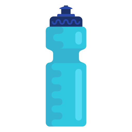 Sports water bottle flat Transparent PNG