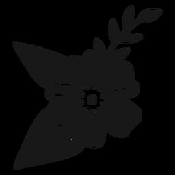 Rama de flores de primavera