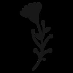 Los botones florales de primavera dejan múltiples