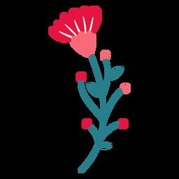 Botões de flores de primavera deixa vários planos