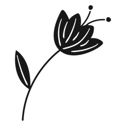Polen de hojas de flores de primavera