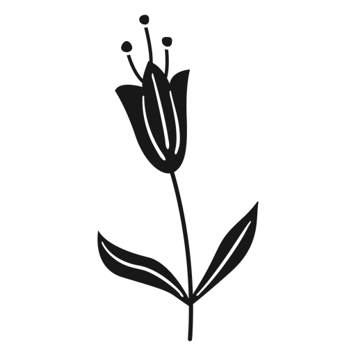 Flor de primavera hojas polen pequeño