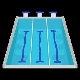 Piso piscina