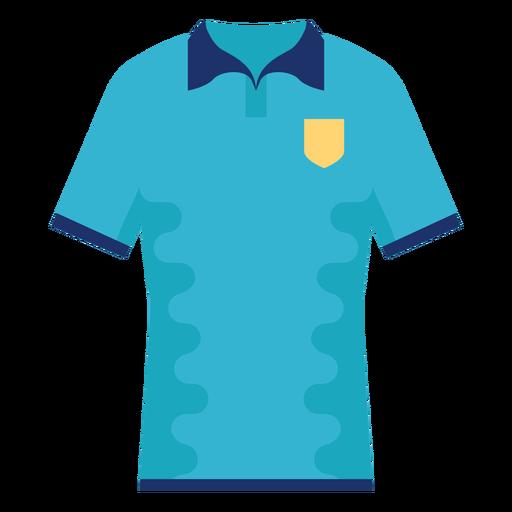T shirt collars flat
