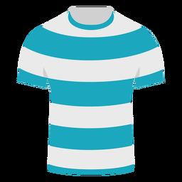 Camiseta de líneas planas