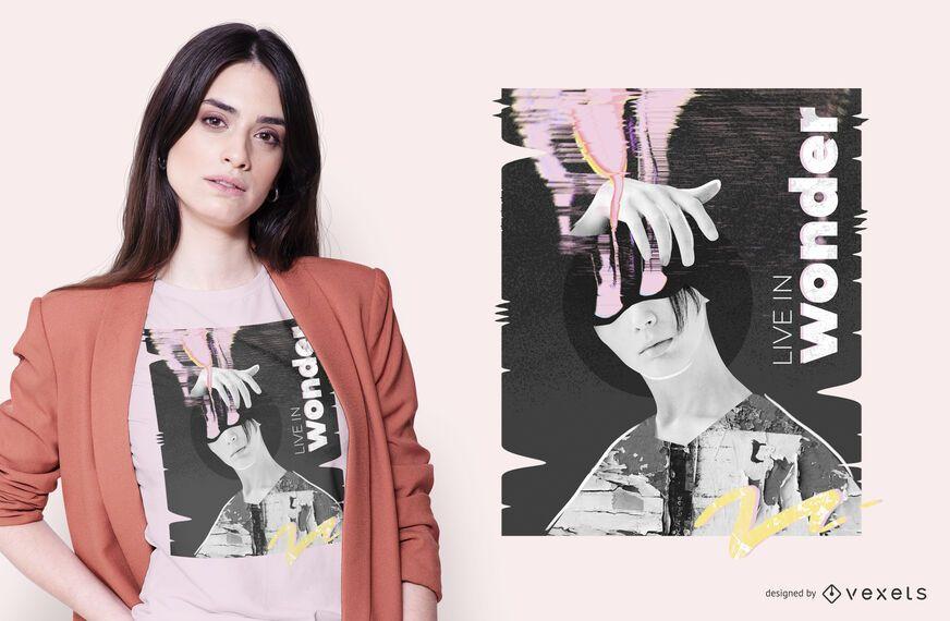 Creative Wonder T-shirt Design