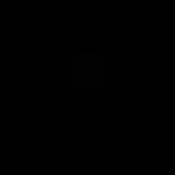 Icono de medicina de etiqueta de baño