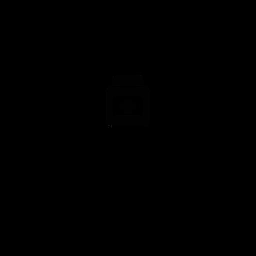 Bathroom label medicine icon