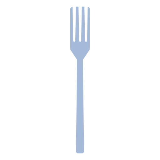 Cooking fork flat