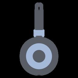 Cooking frying pan flat