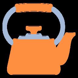 Chaleira de cozinha plana