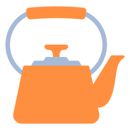 Cooking kitchen kettle flat