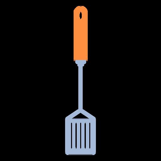 Cooking kitchen spatula flat Transparent PNG