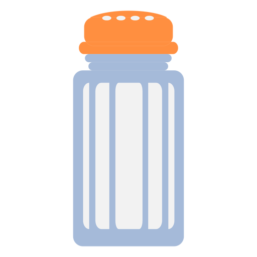 Cooking salt shaker flat Transparent PNG
