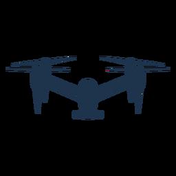 Drone quad frente pequeño