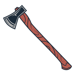 Icono de hacha de leñador icono de hacha