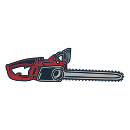 Lumberjack electric saw icon