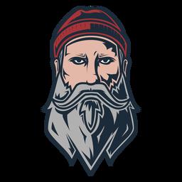 Icono frontal de leñador