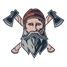 Icono de ejes delanteros de leñador
