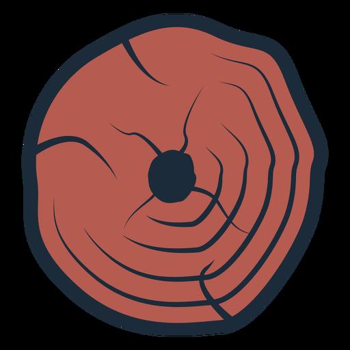 Icono de árbol de leñador