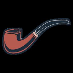 Icono de tubo de madera de leñador objeto de tubo
