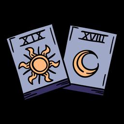 Magic cards hand drawn