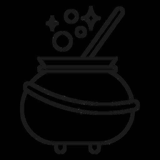 Golpe de caldero de mago Transparent PNG