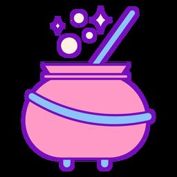 Curso de caldeirão colorido mágico