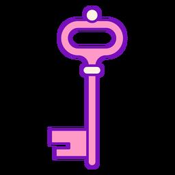 Magician colored key stroke