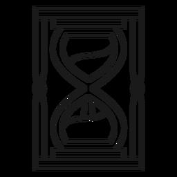 Magician hourglass stroke