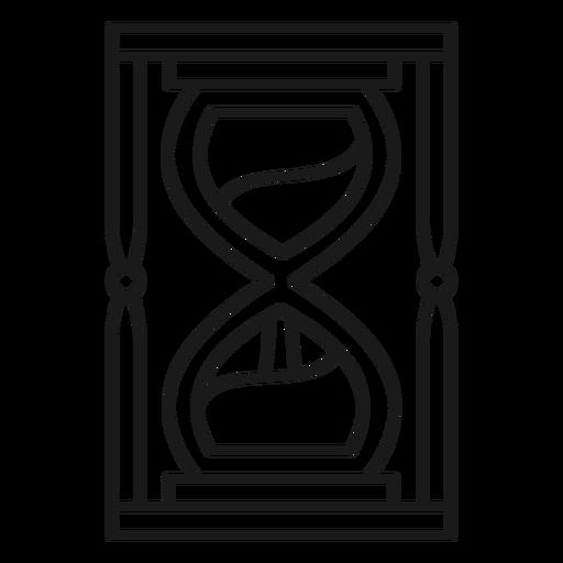 Golpe de reloj de arena mago Transparent PNG