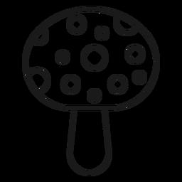 Magician mushroom stroke