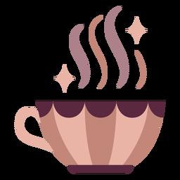 Taza de poción mágica plana