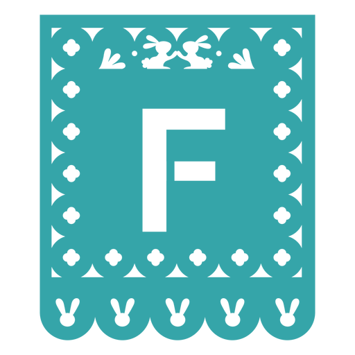 Papel picado f flat