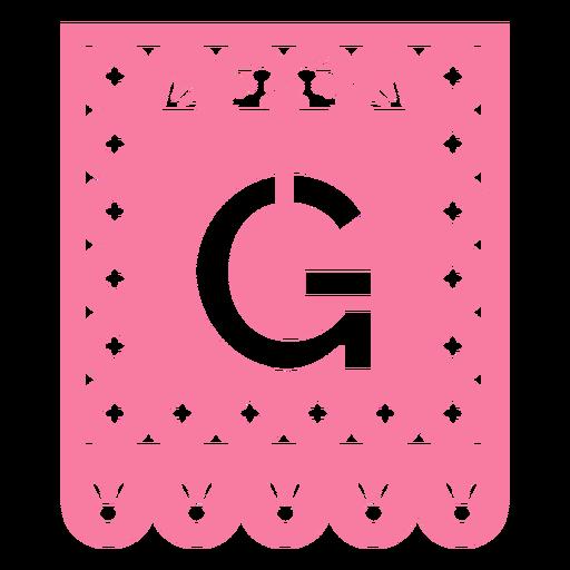 Papel picado g flat