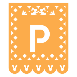 Papel picado p flat