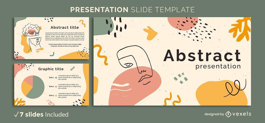 Abstract Organic Presentation Template
