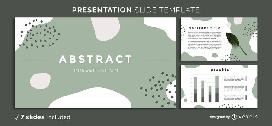 Organic Shapes Presentation Template