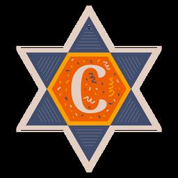 Star of david c banner