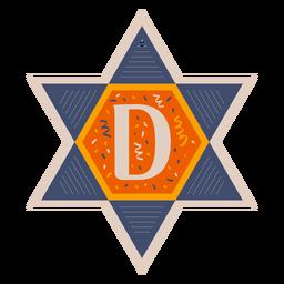 Star of david d banner