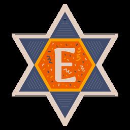 Estrella de david e banner