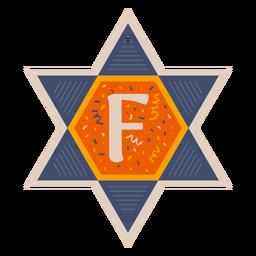 Star of david f banner