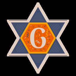 Star of david g banner
