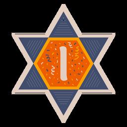 Estrella de david i banner